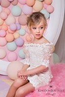 Fashion Girls Dresses 2016 Sheath Ivory Flower Girl Dresses ...