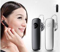 Stéréo sans fil Bluetooth Mini casque M165 Ecouteur casque bluetooth handfree universel pour iphone i6s bord Note de Samsung 7 tout téléphone