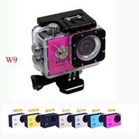 Full HD W9 Gopro Sport DV Cameras Wifi Action Camera Wireles...