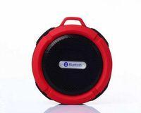 C6 IPX7 Deportes al aire libre Portable inalámbrico inalámbrico Bluetooth Speaker Succión Copa Handsfre reproductor estéreo para IOS dispositivo Android 20pcs / up
