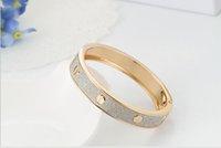 New Fashion 1 PCS Fashion Lady Stardust Bangle Bracelet for ...