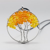 New design women crystal tree of life necklace The original ...
