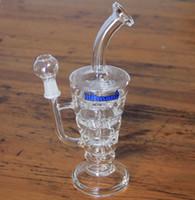 Bong de fumer de verre! Verre de verre Hitman Bongs en verre de piles plus récents Glass Oil Rigs Pipe d'eau de verre épais et robuste avec joint de 14,4 mm