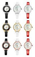 Nouveau Tierxda femmes en cuir imperméable automatique mode loisirs montre-bracelet 6079L