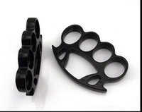 TOUGHGUY THICK STEEL BRASS KNUCKLE DUSTERS BUCKLE BLACK knuc...