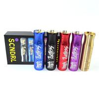 Scndrl Mod Mechanical Mod Scndrl 24mm Fit 18650 Battery For ...