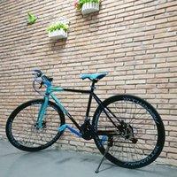 Stock dans les Etats-Unis Sports 26 pouces vélo Mountain Bicycle Dirt Racing Road Cycle 21-Speed Homme / Femmes en plein air
