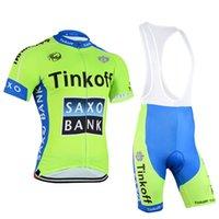 Tinkoff Saxo 2015 Cycling Jerseys Men Summer Fashion Bicycle...