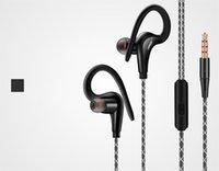 Écouteurs originaux de FONGE S760 de DHL libres écouteurs de sport de crochet d'oreille de 3.5m de haute qualité universels pour l'iphone 6s samsung S7
