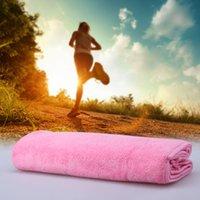 minleo fibra esecuzione asciugamano Sport Fitness assorbente assorbire il sudore più lungo magia fibra Sport Asciugamani DHL H15479