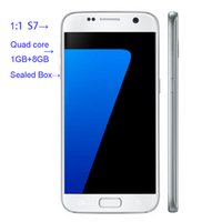 Presell Unlocked Goophone 1: 1 S7 quad Core MTK6582 Smartphon...