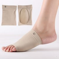 Wholesales 1 Pair Silicone Gel Elastic Bandage Arch Flatfoot...