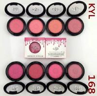60pcs HOT KYLIE макияж лица KY168 # Blush 8 различный цвет 9g бесплатная доставка.