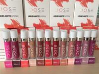 2016 Nouvelle arrivée Dose de couleurs Liquide Mat Lipstick Lipgloss imperméable à lèvres Lipgloss Livraison gratuite DHL
