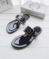 2016 new summer woman girl Flat sandals T the beach shoes Fl...