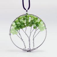 Fashion 2016 Natural Handmade crystal Tree of Life Crystal N...