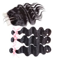 Brazilian Malaysian Peruvian Hair Extensions Natural Color B...