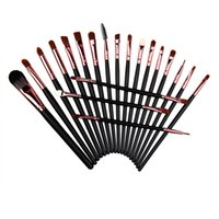 20Pcs Set 4 Colors Professional Makeup Brushes make up Cosme...