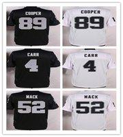 2016 Raiders Mens Jerseys 4 Derek Carr 52 Khalil Mack 89 Ama...