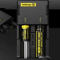 Nitecore i2 Chargeur universel Intelli Chargeur multifonction pour 18650 14500 16340 26650 Batterie E cig