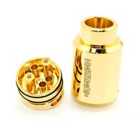 Livraison gratuite SXK 2 Post Kennedy 24 Rda Ajustement Airflow Laiton / 24k plaqué or 2 post KENNEDY 24 TRICKSTER VS Kennedy 25 rda