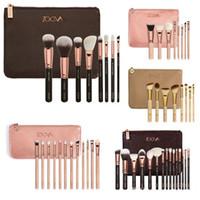 NOUVEAU NOUVEAU ZOEVA Brushes Maquillage 8/12/15 pièces Professional Brushes Kit Fondation Pinceau Luxury Bag Noir Livraison gratuite