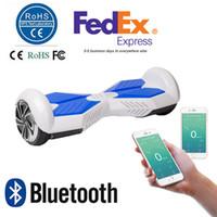 6,5 pouces Smart Balance Wheel Bluetooth Hoverboard électrique Skateboard Monocycle Drift Auto équilibrant debout Scooter APP Control