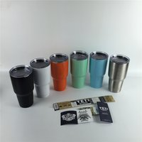YETI 30oz Cups Cooler Colored YETI Cups Rambler Tumbler For ...