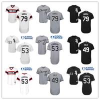 Cheap Chicago White Sox Baseball Jerseys 53 Melky Cabrera #4...