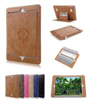 iPad Pro 9. 7 Exquisite Matte Leather Wallet Case Smart Stand...