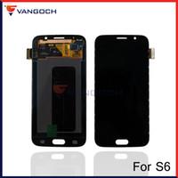 Écran LCD écran tactile Digitizer Assemblée pour Samsung Galaxy S6 G9200 G920 G920A G920F G920K G920L G920P G920S remplacement réparation