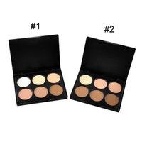 Professional 6 Colors Blush Trimming Set Makeup Contour Blus...