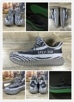 Hot Sale 350 Boost V2 Kanye West Boost 350 Shoes Turtle Dove...