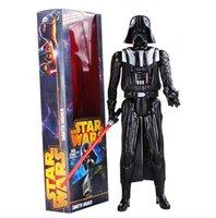 30cm Star Wars Black Knight Darth Vader PVC Action Figure Co...