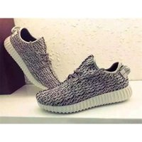 Yeezied 350 Boost Men Women Turtle Dove Grey Fashion shoes T...