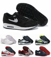 Free Shipping 2016 New Max 87 Retro Running Shoes For Men Br...