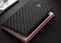 2016 Apple Tablet Case ipad 2 3 4 5 étui de protection slim clamshell diamant rond rivets rondes texture design Tablet PC Case