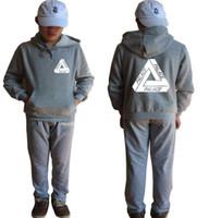 Fall and winter new hoodies PALACE skateboard triangular men...