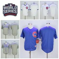 Baseball Chicago Cubs Jersey Blank 2016 World Series Postsea...