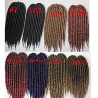 Kanekalon synthetic braiding hair havana mambo twist crochet...