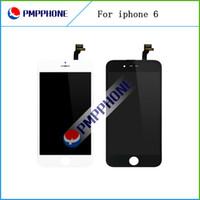 Meilleure qualité AAA pour l'écran LCD de l'iPhone 6 4,7 pouces complète assemblage complet avec numériseur écran tactile et les remplacements de cadre Livraison gratuite
