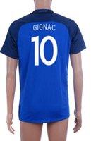 Thai Quality Customized 16- 17 new season France home 10 GIGN...