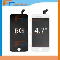 Pour l'écran d'affichage à cristaux liquides de l'iPhone 6 avec le numériseur d'écran tactile complet pour l'écran de lcd d'iPhone 6,6 pouces avec le bateau libre