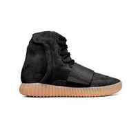 """New Arrival Kanye West 750 Boost """" BLACK """" Glow in t..."""