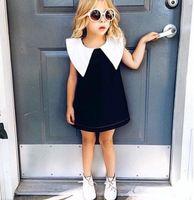 INS 2016 Hofn Princess Sweet Girls Party Dresses Big Collar ...
