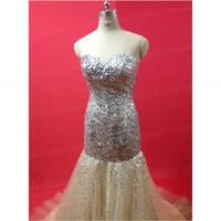 Prom Dresses Sweetheart Beaded Sequins Sleeveless Tulle Floo...