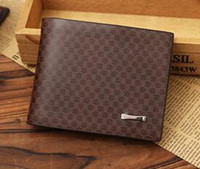 2016 Male Genuine Leather luxury wallet Casual Short designe...