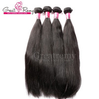 100% Peruvian Unprocessed Human Hair Extensions 7A Double We...