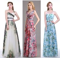 Designer 2016 Prom Evening Gowns Long Print Sweetheart Bride...