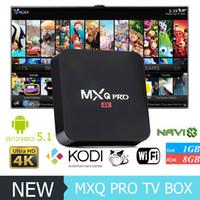 MXQ Pro Android TV Box Quad Core Amlogic S805 Pre- installed ...